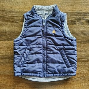 Baby Gap Navy Zip Up Vest
